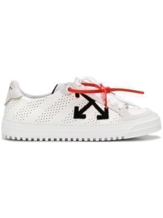Off-White arrow sneakers (wit)