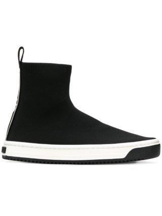 Marc Jacobs high top instap sneakers (zwart)
