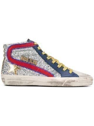 Golden Goose Deluxe Brand Mid Star sneakers - Zilver