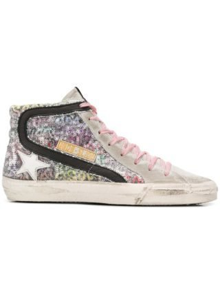 Golden Goose Deluxe Brand Mid Star sneakers - Wit