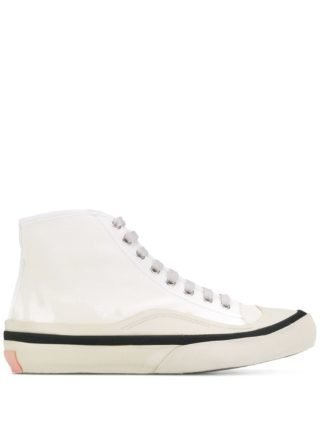 Acne Studios Canvas sneakers (wit)