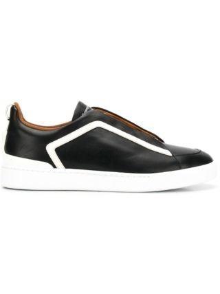 Ermenegildo Zegna XXX sneakers met contrast streep (zwart)