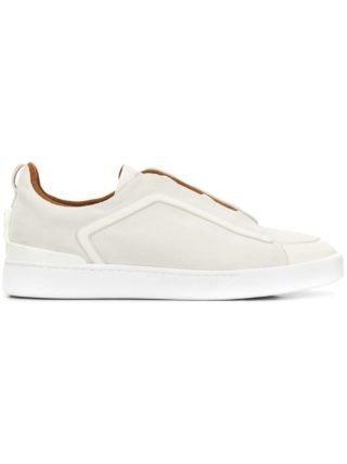 Ermenegildo Zegna XXX sneakers met pand (wit)