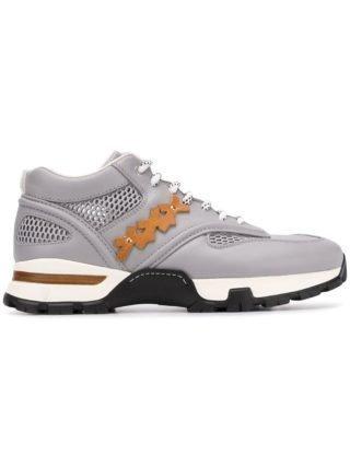 Ermenegildo Zegna XXX Technische Mesh sneakers (grijs)