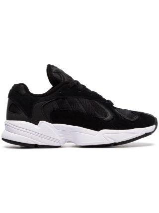 Adidas Yung 1 Easy Doubles sneakers van suède - Zwart