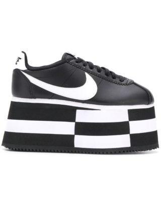 Comme Des Garçons Comme des Garcons x Nike sneakers met plateauzool (zwart)