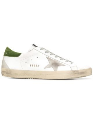 Golden Goose Deluxe Brand bewerkte Superstar sneakers - Wit