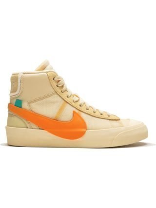 Nike Nike x Off-White The 10: Blazer Mid sneakers - Canvas/Pale Vanilla-Black-Tota