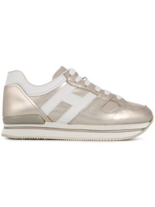 Hogan H222 sneakers - Metallic