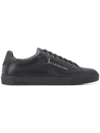 Billionaire low-top sneakers (zwart)