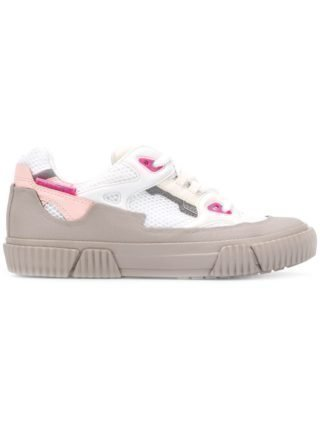Both colourblock sneakers (wit)