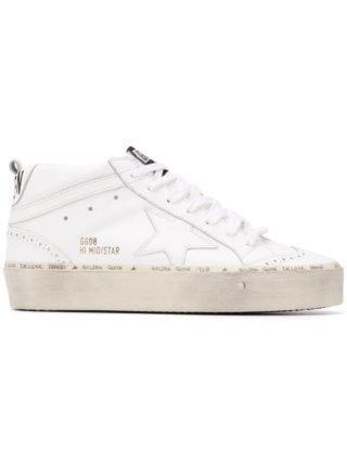 Golden Goose Deluxe Brand Mid-Star sneakers - Wit