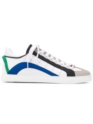 Dsquared2 551 low-top sneakers (wit)