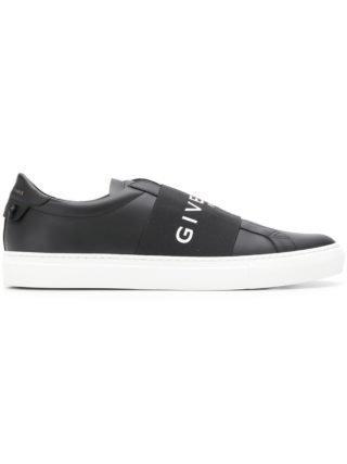 Givenchy elastische skate sneakers - Zwart
