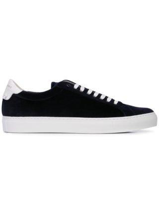 Givenchy low-top sneakers met veters (blauw)