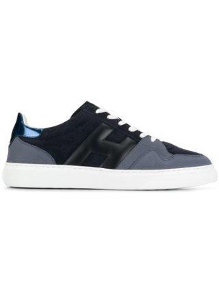 Hogan low-top skate sneakers - Blauw