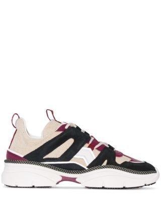 Isabel Marant Kindsay low top sneakers (zwart)