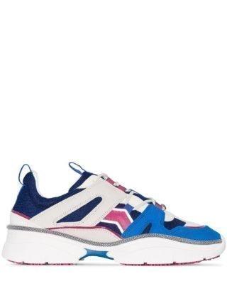 Isabel Marant Kindsay low-top sneakers (blauw)