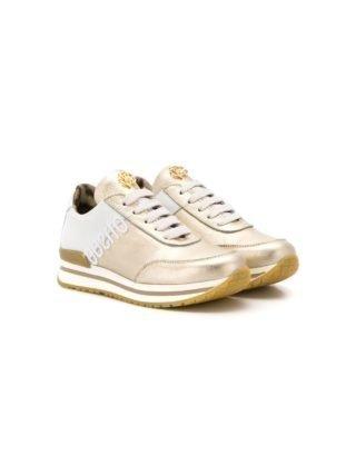 Roberto Cavalli Junior TEEN tweekleurige sneakers (goud)
