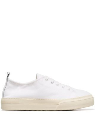 Sunnei Sabot canvas sneakers (wit)
