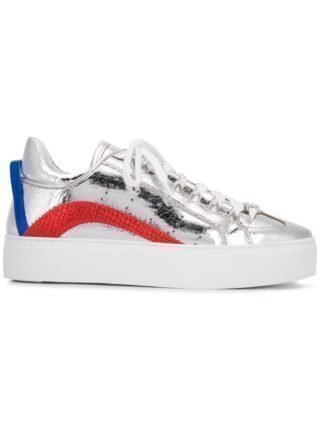 Dsquared2 551 sneakers (zilver)