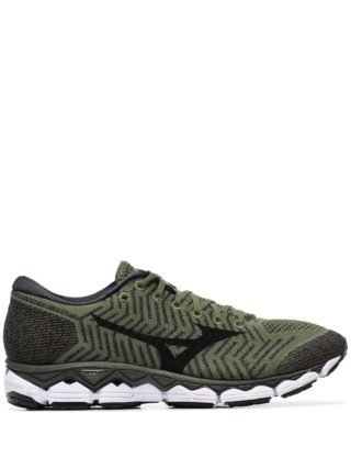 Mizuno Waveknit S 1 low top sneakers (groen)