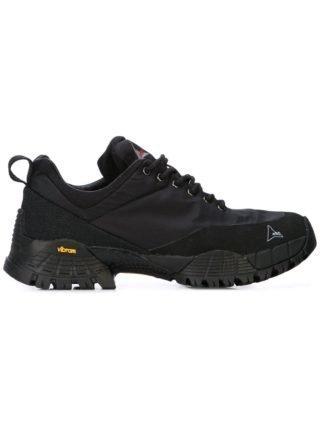 Roa Sneakers met chunky zool (zwart)