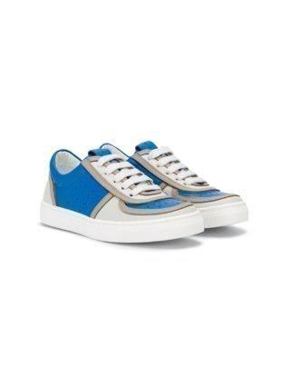 Marni Kids Sneakers met veters (blauw)