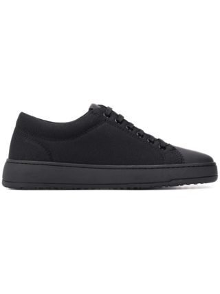 Etq. Monochrome sneakers met veters (zwart)