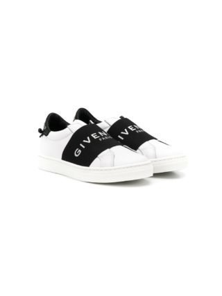 Givenchy Kids sneakers met logo bandje (wit)