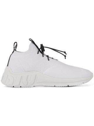 Miu Miu gebreide sneakers (wit)
