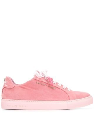 Philipp Plein lace-up sneakers (roze)