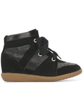 Isabel Marant Sneakers met sleehak - Zwart