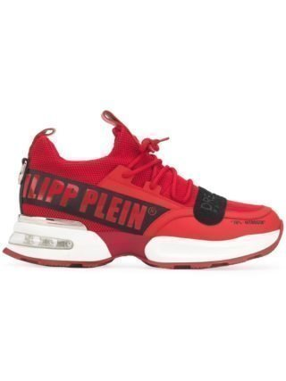 Philipp Plein Chunky low-top sneakers (rood)