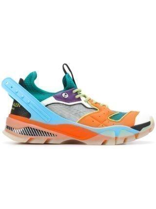Calvin Klein 205W39nyc Carlos 10 sneakers met mesh - Oranje