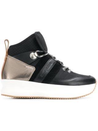 See By Chloé Vetersneakers met plateauzool (zwart)