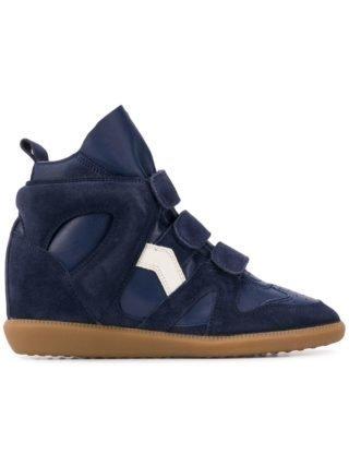 Isabel Marant Buckee sneakers met sleehak - Blauw