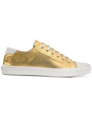 Saint Laurent Bedford sneakers (goud)