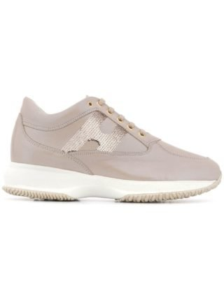 Hogan Interactive low-top sneakers - Nude