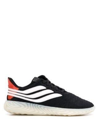 Adidas Sobakov sneakers met suède - Zwart