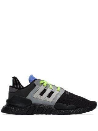 Adidas EQT Support gebreide sneakers - Zwart