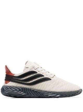 Adidas Sobakov leren sneakers - Wit