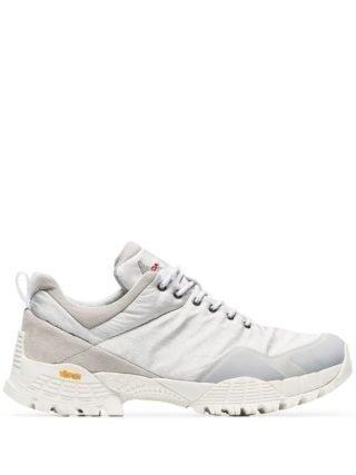 Roa Oblique ripstop sneakers (zilver)