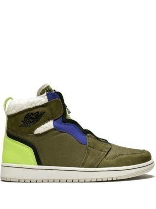 Jordan WMNS Air Jordan 1 High ZIP UP sneakers - Groen