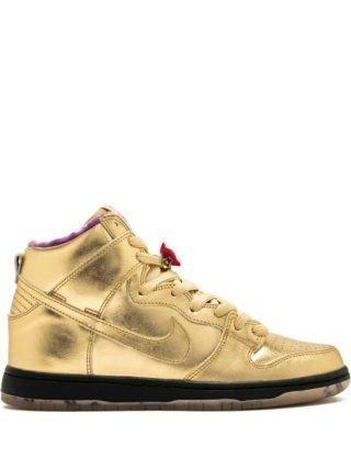 Nike SB Dunk Hoge QS sneakers - Goud