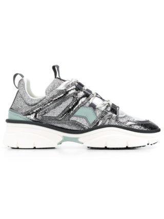 Isabel Marant Sneakers met panelen (grijs)