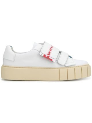 Primury Fragile touch strap sneakers (wit)
