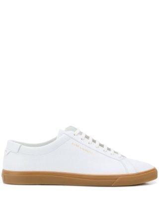 Saint Laurent Andy sneakers (wit)