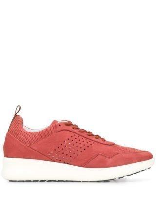 Baldinini Geperforeerde sneakers (rood)
