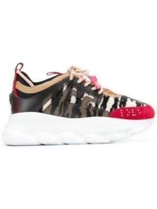 Versace Chain Reaction sneakers - Zwart
